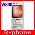 Original abierto de sony ericsson w890i w890 teléfono móvil 3g móvil y un año de garantía