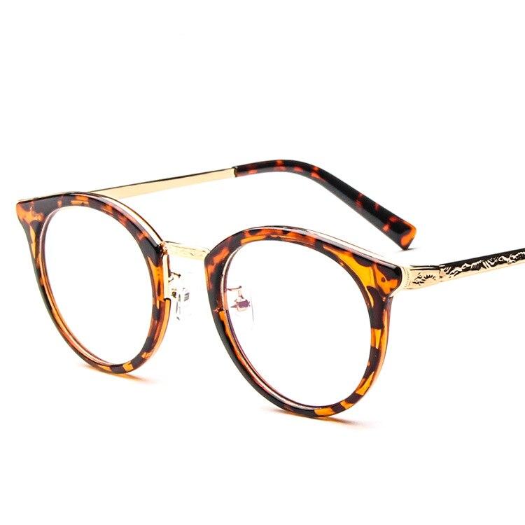 Hombres de la manera Transparente Gafas Gafas Gafas Mujer/Hombre ...
