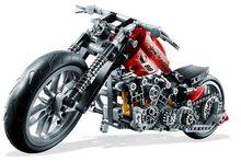 3354 технических мотоциклетные Строительная модель Harley; транспортное средство Набор строительных блоков 7115 3353 3373 совместим с 8051 игрушки Лепин