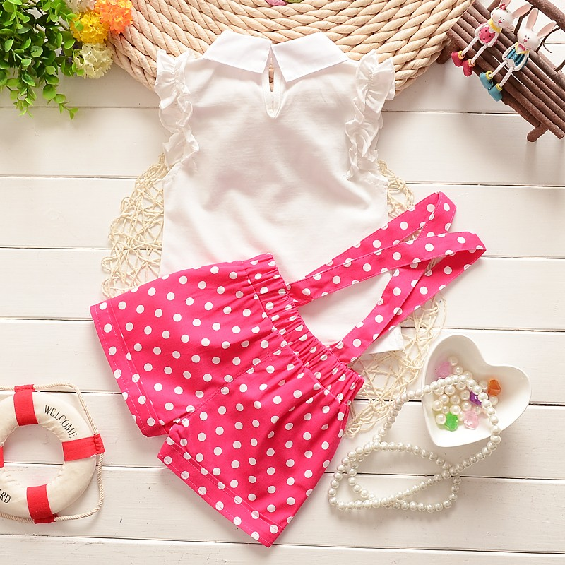2015-summer-baby-girls-newyear-Christmas-outfit-clothing-sets-chiffon-plaid-t-shirt-overalls-pant-baby (1)
