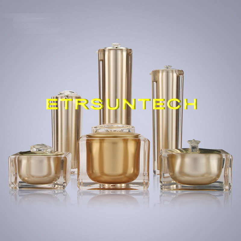 15g 30g 50g 30ml 50ml 100ml Empty Gold Square Shape Acrylic Lotion Cream Pump Bottle Cosmetic Container Luxury Bow cream jar 15g 30g 50g empty acrylic lotion cream cosmetic bottles silver luxury skin care cream jar cream 30 50 80 120 ml pump container