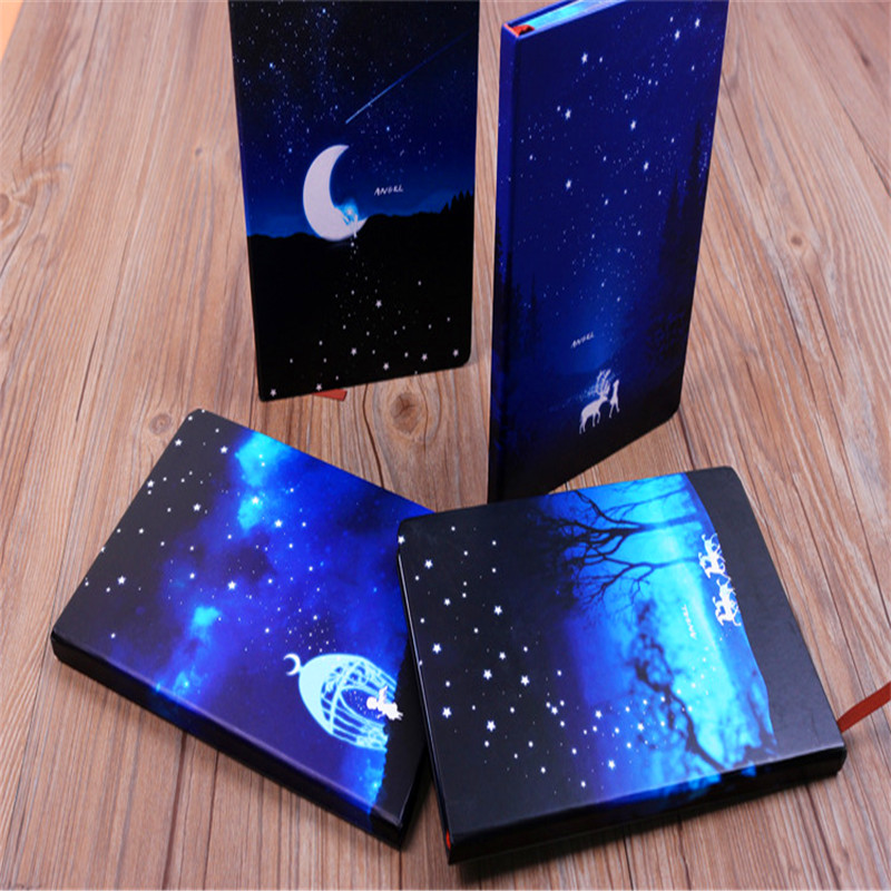 1PC Lovely blue sky creative angel notebooks and journals school office daily diary notepad  Notebooks  Writing Pads yunhee lee kara angel diary volume 2