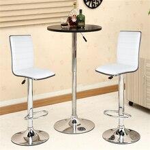 Регулируемый 2 шт./компл. Лифт вращающийся поворотный барный стул простой барный стул современный обеденный стул Nordic барный стул мебель для дома HWC