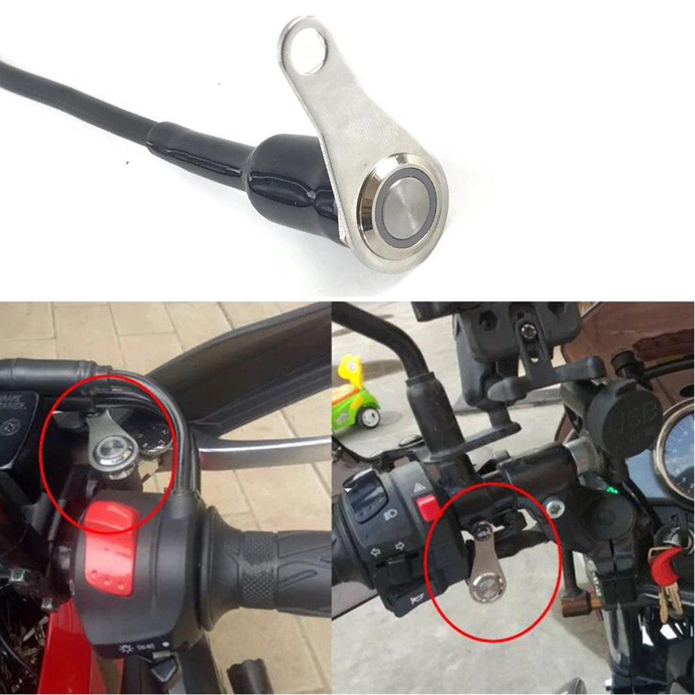Metal Motorbikes Handlebar Headlight ON OFF Button Light Switches for Honda