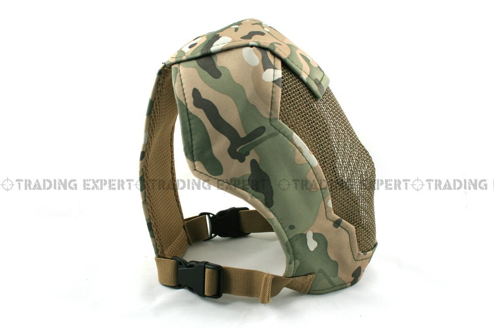 Airsoft Party Mask Stalker Praetorian Rampage (MC ACU Woodland SAND Marpat Desert Italian Woodland Marpat Woodland) MK-18 01701