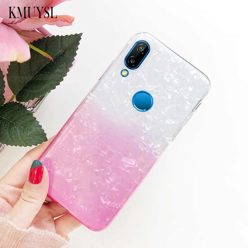 Glitter Gradient Case For Huawei Y7 Pro Y6 Y9 P Smart 2019 P30 P20 P10 Mate 20 10 Lite Nova 4 3 3i Honor 10 8X Max 8C 7C Cover