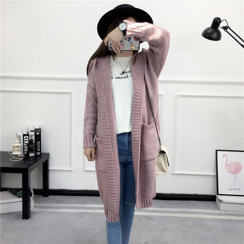 HTB1UvNRSVXXXXXaXFXXq6xXFXXXb - Women Long Knitted Sweater Coat Hooded Sweater Cardigans JKP039