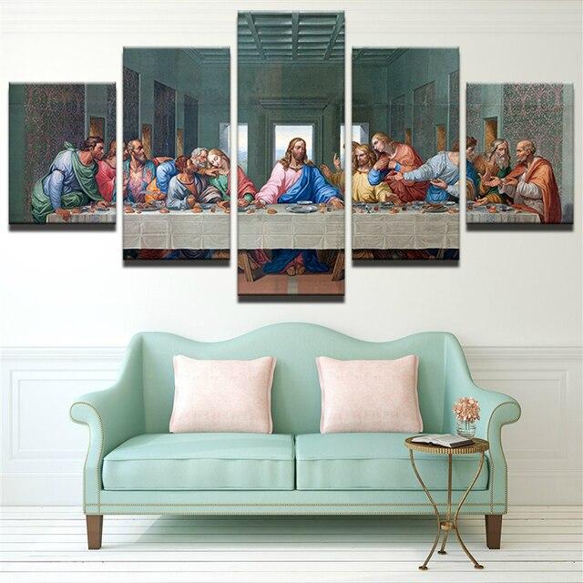 Grote Kerstversiering Voor Thuis Canvas Schilderen Jezus Het ...