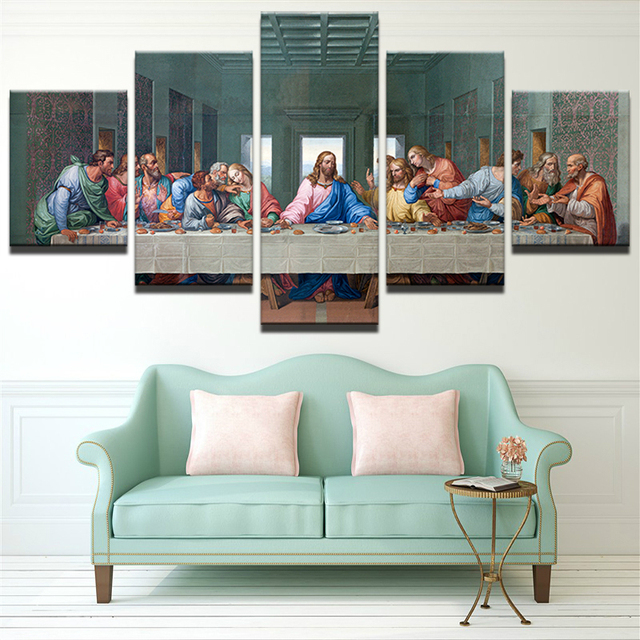 Christmas Decorations For Home Canvas Painting Print Jesus