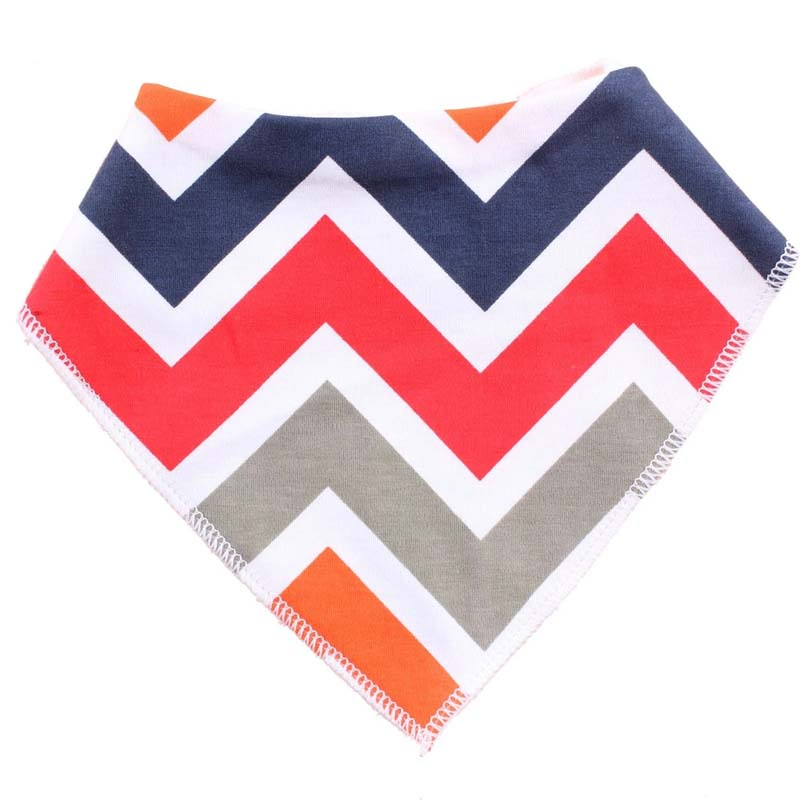 XCQGH Bandana Baby Bibs Cotton Arrow Triangle Toddler Infant Saliva Towel Boy Girl Drool Bib Burp Cloth Apron Smock 19Colors