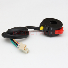 Free Shipping Small Monkey Beach Car Off-Road Motorcycle Function Modified 3 Function Switch Headlight Turned To The Speaker цена