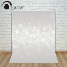 Allenjoy photo background Light gray bubbles shiny bright baby backgrounds for photo studio foto background