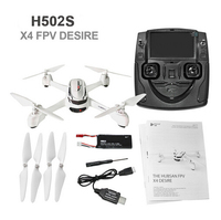 Hubsan X4 H502S Drone 5 8G FPV With 720P HD Camera GPS Altitude Mode RC Quadcopter