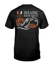 University Of Miami Shark Research Shirt Cool Casual pride t shirt men Unisex New Fashion tshirt Loose Size top ajax 2018 funny(China)