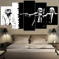Drop Shipping Canvas Printing Famous Movie Wallpaper Painting Home Decoration Unframed Canvas Paintings For Living Room