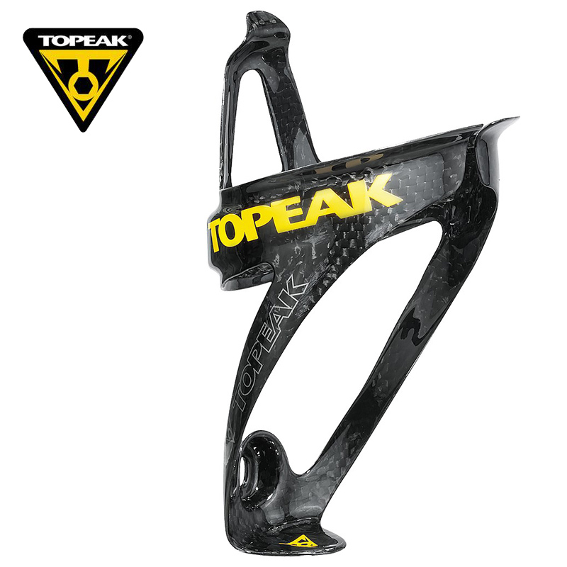 TOPEAK Full Carbon Fiber Bicycle Water Bottle Holder Ultralight 17g Road/MTB Bike Carbon Bottle Holding Rack Cage Bike Accessory ud full carbon mtb road bike bottle holde water bottle cage bicycle bottle holder cage bicycle accessories