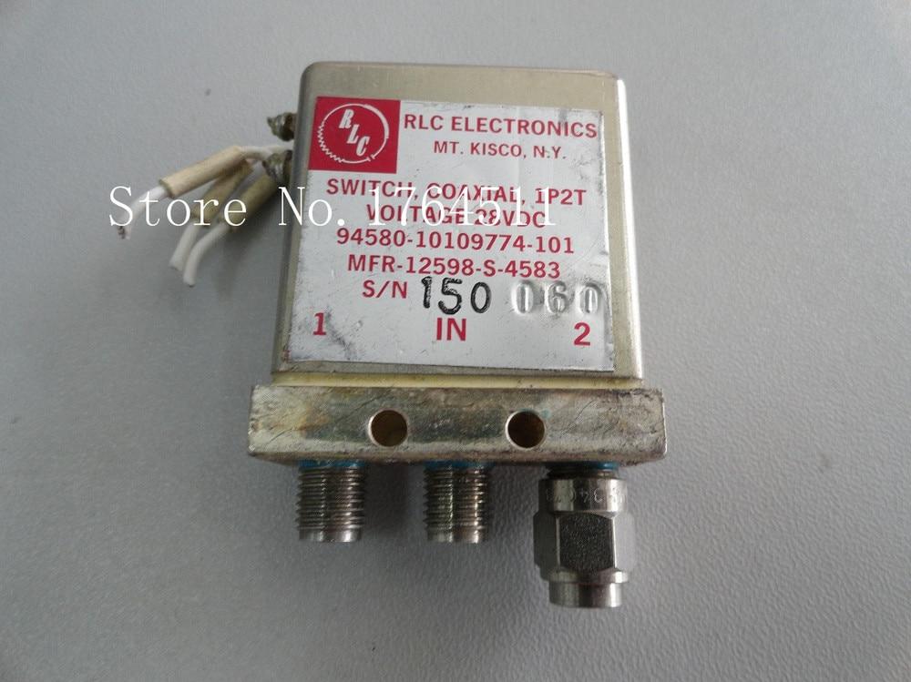 [BELLA] RLC MFR-12598-S-4583 DC-18GHZ SPDT 28V  --2PCS/LOT[BELLA] RLC MFR-12598-S-4583 DC-18GHZ SPDT 28V  --2PCS/LOT
