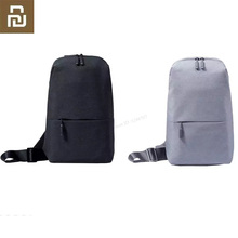 Original Xiaomi Mi Backpack Urban Leisure Chest Pack Bag For Men Women Small Size Shoulder Type Unisex Rucksack Backpack Bags