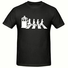 ABBEY ROAD TIMELORDS T SHIRT, FUNNY NOVELTY MENS SHIRT,SM-2XL New Shirts Funny Tops Tee Unisex Topsfree shipng