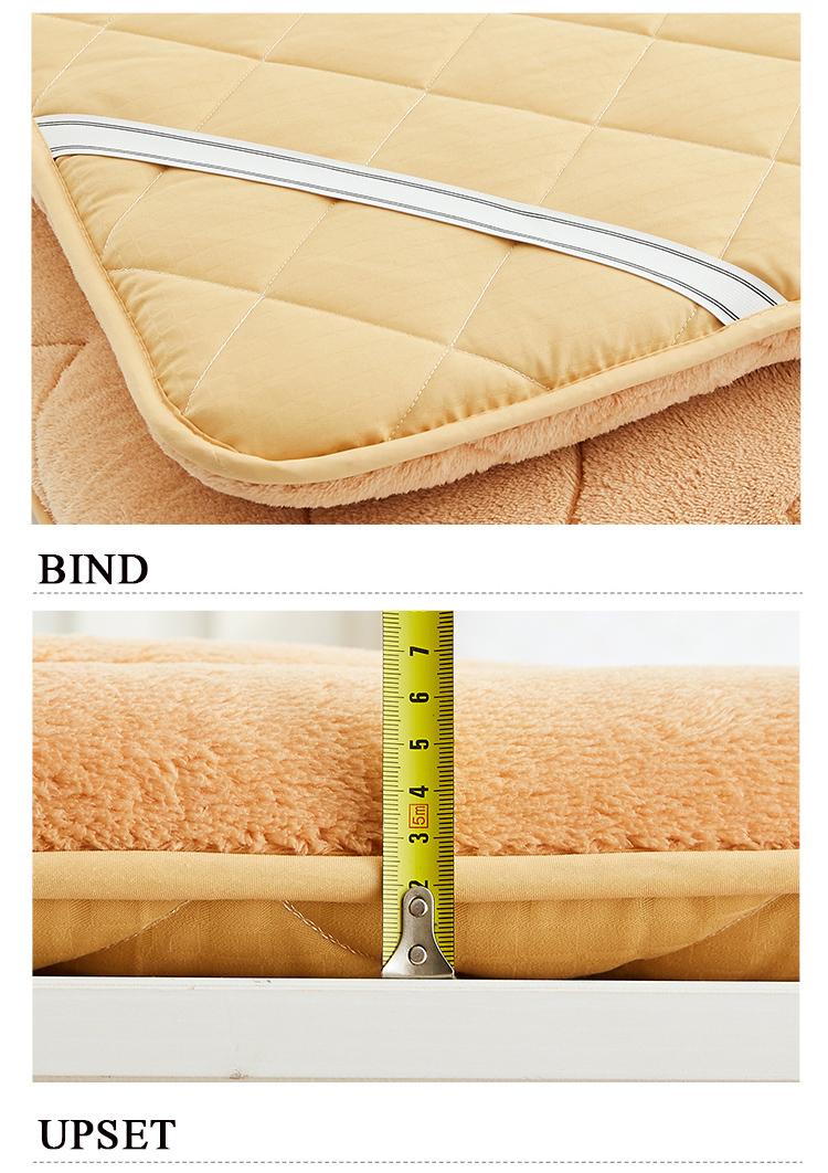 tatami mattress thickened bed mat carpet economy 1 8m double floor