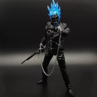 NEW hot 23 cm Đại Lý của SHIELD Ghost Rider Super hero nhà sưu tập hành động hình đồ chơi món quà Giáng Sinh với