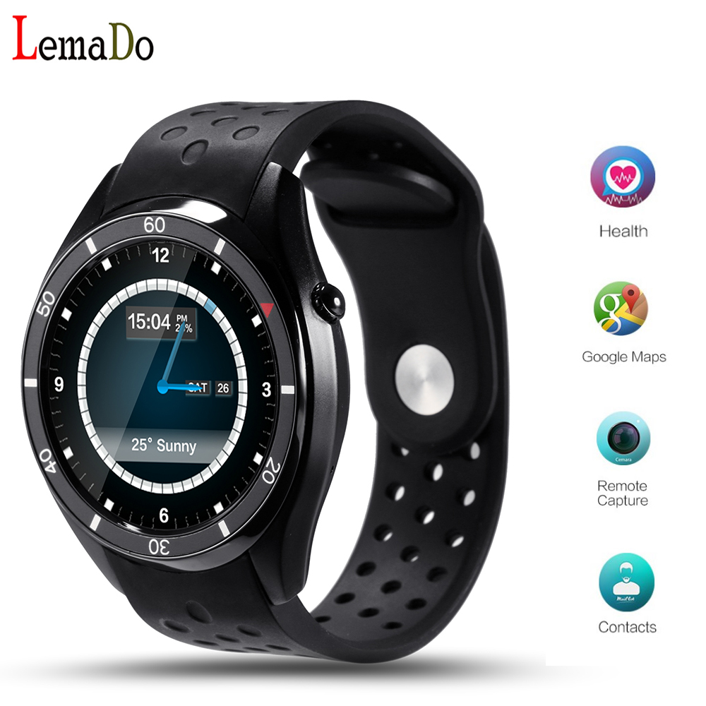 NEW Lemado I3 Android 5.1 Smart Watch for Android Phone sync SMS Heart Rate Moni