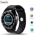 Nueva lemado i3 android 5.1 smart watch para el teléfono android sync sms monitor de ritmo cardíaco wifi gps reloj de pulsera