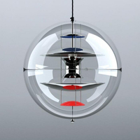 led gu10 Nordic Acryl Iron Globe Designer LED Lamp LED Light.Pendant Lights.Pendant Lamp.Pendant light For Dinning Room Foyer
