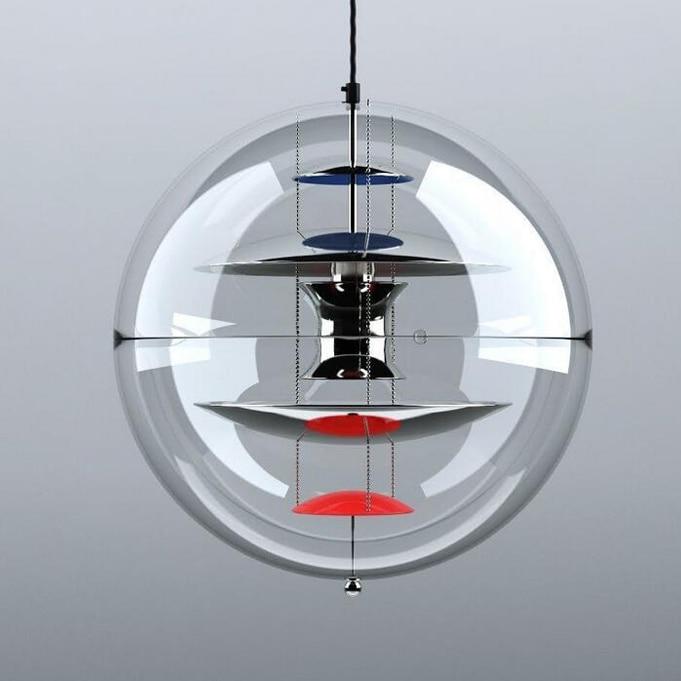 Led gu10 Nordique Acrylique Fer Globe Designer LED Lampe LED Lumière. Pendentif Lumières. Pendentif Lampe. Pendentif lumière pour Salle À Manger Hall