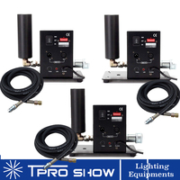 3Pcs Mini CO2 Jet Machine Dmx 512 Control Pyro Machine Jetting 6 to 8Meters Co2 Fog Column for the Stage Concert Live Laser Show