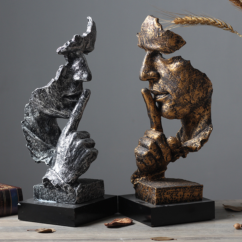 Resin Silence Figurines (37)