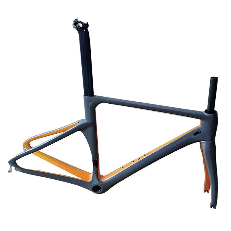 2018 STOCK  EARRELL carbon bike frame light UD weave bike frameset new design with fork free shipping Di2 bike carbon road frame