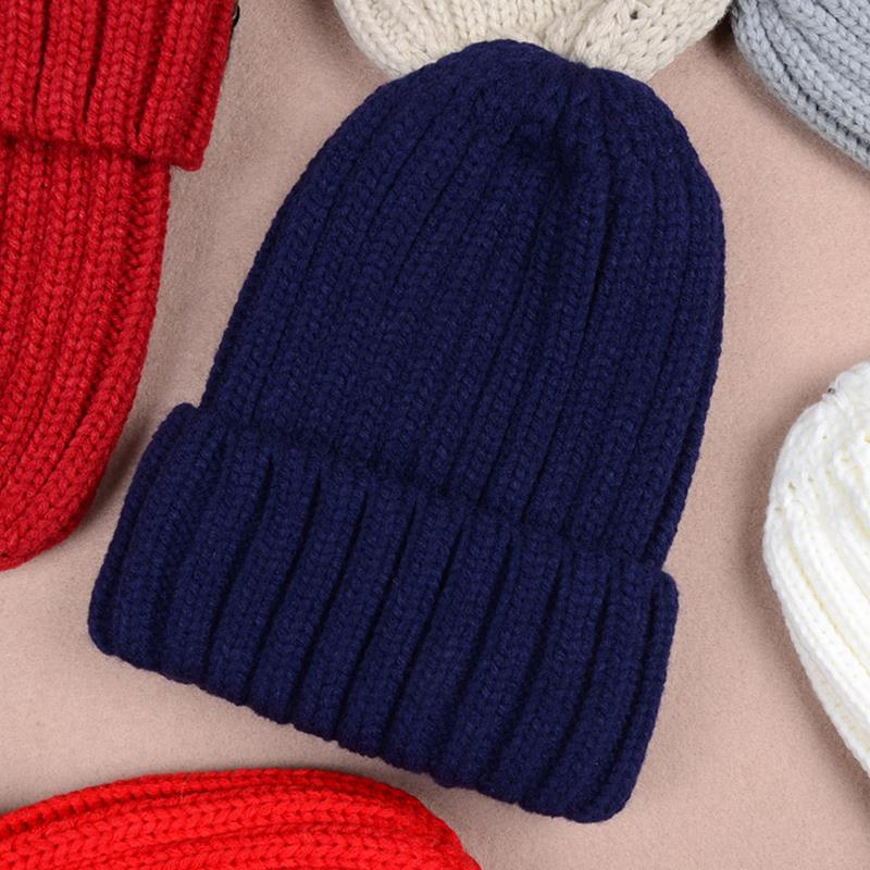 warm female Cap Fashion winter hat hats for women knitted slouchy beanie womens bonnet Skull Chunky stocking hats Baggy knitted winter warm female hat rabbit fur beanie cap woman chunky baggy cap skull gorros de lana mujer bonnet femme beanies cap