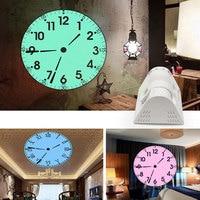 Multi function Projection Alarm Clock Electronic Living Room Clock Desktop European Digital Night Light Art Office Decoration