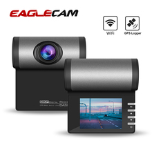 WIFI Car Camera DVR Vehicle Dash Cam 1080P Full HD Dash Camera GPS Logger Parking Monitor Video Recorder Registrar G Sensor DVRs цена 2017