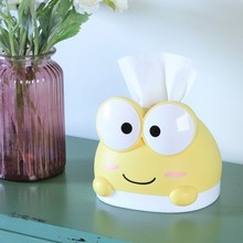 BF040 Cartoon creative frog tissue box, lovely household paper living room, toilet, bedroom plastic towel 14.7*16.5cm