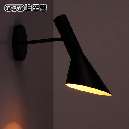 The living room bedroom bedside lamp modern minimalist creative restaurant balcony aisle wall bar creative bedside wall lamp modern minimalist rectangular corridor balcony living room bedroom background lighting fixture
