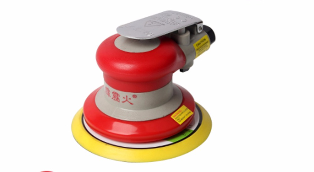 Free shipping High quality 20317/20319 Red Random Orbital Sander 5 inch (127 mm) Non-Vacuum 3/16 in Orbit Round home tools free shipping electric disc sander tool accessories plastic pad plate tray for makita gv6000 high quality