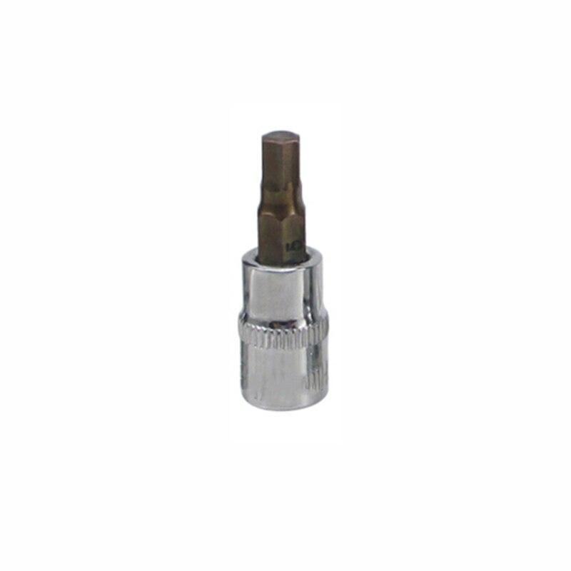 1/4 Dr Hex Allen Key Bit Socket Tools H2mm/2.5mm/3mm/4mm/5mm/6mm/7mm/8mm/10mm