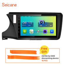 Seicane 10.1 inch Android 6.0 Car Radio GPS Navigation for 2015 Honda CITY With Bluetooth support 3G WIFI USB Rearview camera
