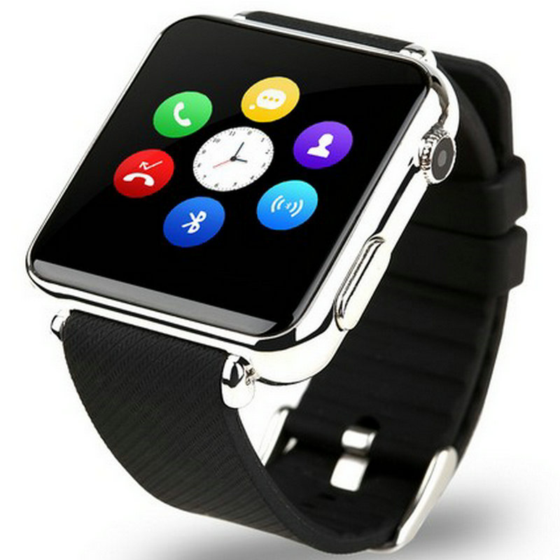Smart watch card bluetooth touch screen led qq sports electronic watch