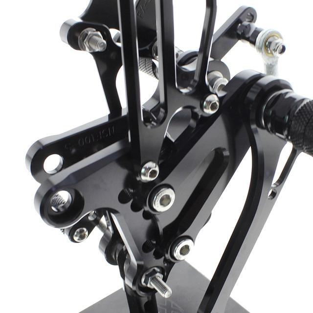Repose-pieds en aluminium pour Honda CBR300RR CBR 300RR 2011-2016 2012 | Repose-pied en montage de arrière