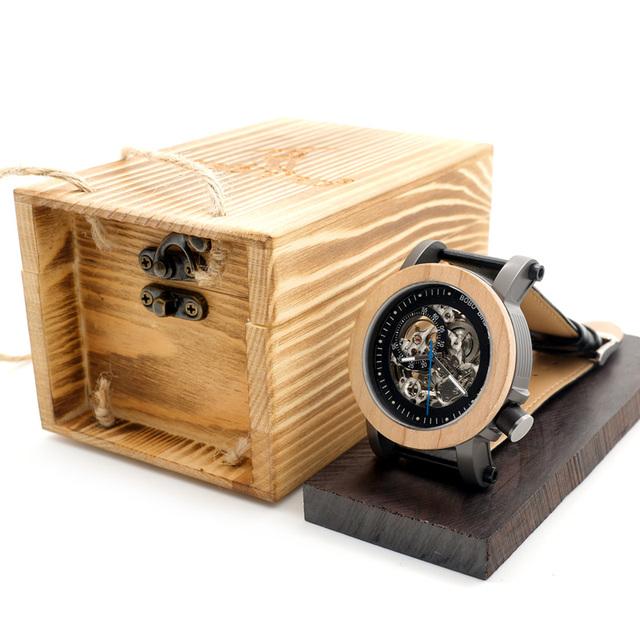 Rejo mecánico / automático de bambú y acero de banda armada