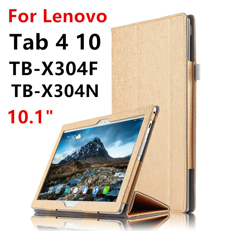 Case For Lenovo Tab 4 10 Covers Tab410 Protective Protector Smart Cover Leather PU TB-X304F X304N X304L Tablet PC Cases 10.1inch huwei case sleeve for lenovo tab 4 10 plus smart cover protective leather tab4 10 tablet pc cases tab410plus pu protector covers