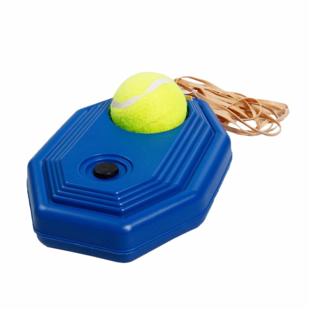Portable Size Rebound Tennis Trainer Self-study Set Practical Tennis Beginner Training Aids Practice Partner Equipment