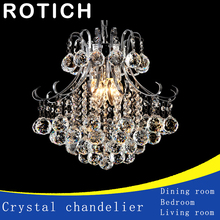 High quality Modern crystal chandelier K9 crystal 110~240V cristal chandelier for living room or bedroom lighting lustre