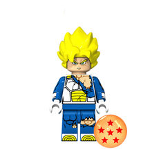 1pcs Anime Series Human Child Dragon Ball Blue Image Role Action Figures Toys For Kids Children's Toys Action Figures(China)