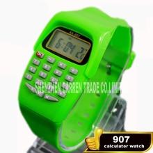 Новое поступление электронные часы студент калькулятор часы KK-907 функции калькулятора электронные часы подарок детям канцелярские Лидер продаж
