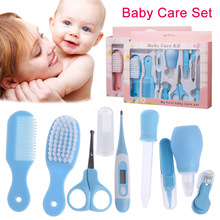 Hot Selling Baby Health Care Set Portable Newborn Tool Kits Kids Grooming Kit Safety Cutter Nail