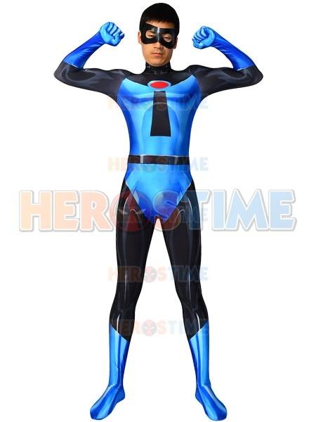Custom Made The Incredibles 2 Mr. Incredible Costume Spandex Printed Halloween Mr. Incredible Superhero Cosplay Bodysuit